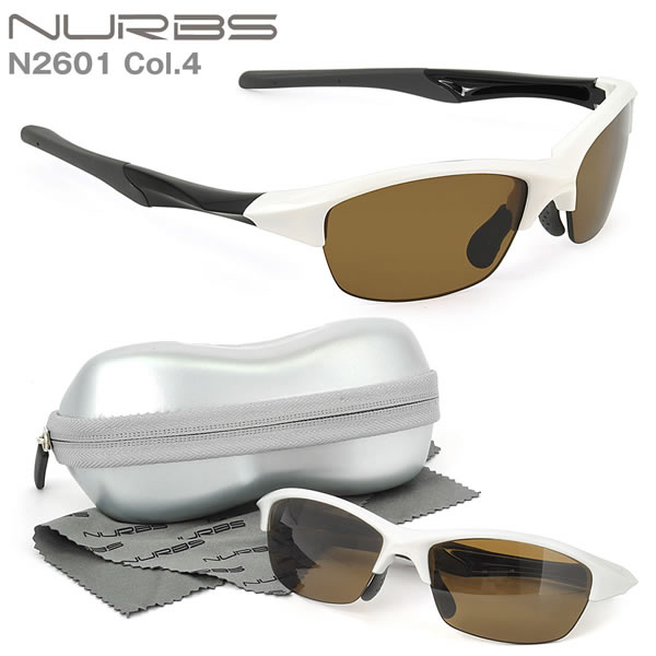 N2601 C4 Nurbs(ヌーブス)お度数付きスポーツサングラス