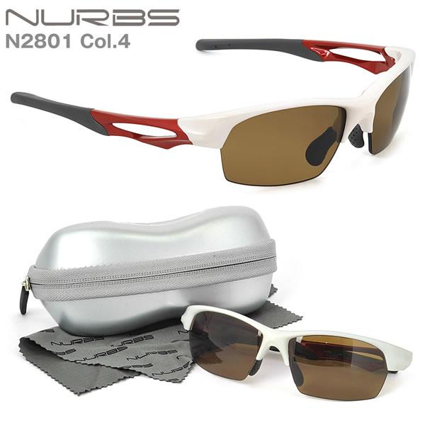 N2801 C4 Nurbs(ヌーブス)お度数付きスポーツサングラス