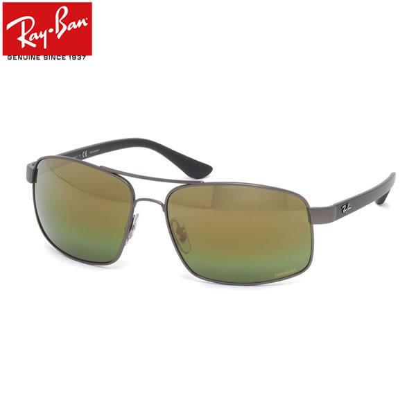 Ray-Ban レイバン サングラス RB3604CH 029/6O 62サイズ ダブルブリッジ ツーブリッジ 偏光 ポラライズド ミラーレンズ メンズ レディース