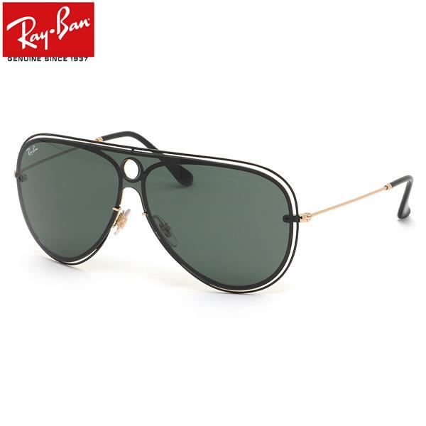 Ray-Ban レイバン サングラス RB3605N 187/71 132サイズ HIGHSTREET BLAZE SHOOTER ハイストリート ブレイズ シューター ツーブリッジ ダブルブリッジ 1枚レンズ ワンシールド メンズ レディース