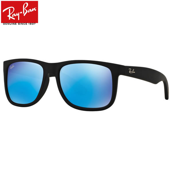 レイバン サングラス ミラー ジャスティン Ray-Ban RB4165F 622/55 58サイズ レイバン RAYBAN JUSTIN FLASH LENSES 62255 WAYFARER ウェイファーラー ミラー ブルーレンズ フルフィット メンズ レディース