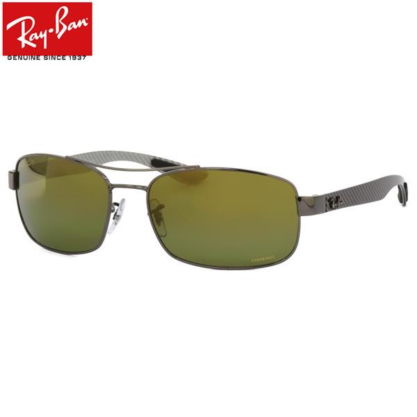 Ray-Ban レイバン サングラス RB8318CH 004/6O 62サイズ CHROMANCE クロマンス 偏光 カーボン ツーブリッジ レイバン RayBan メンズ レディース
