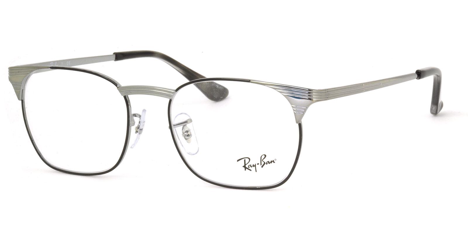 レイバン メガネ フレーム Ray-Ban RX6386 2901 51サイズ スクエア レイバン RAYBAN メンズ レディース