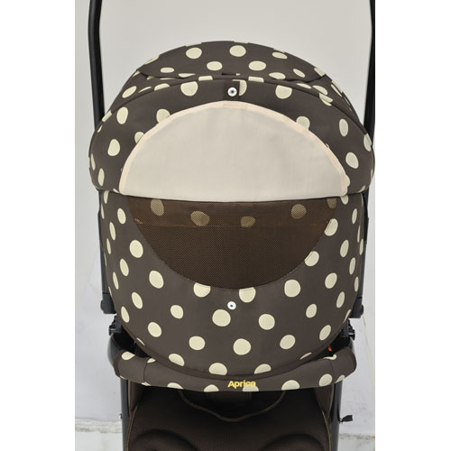 Aprica stroller Laura Quattro flowing dot BE