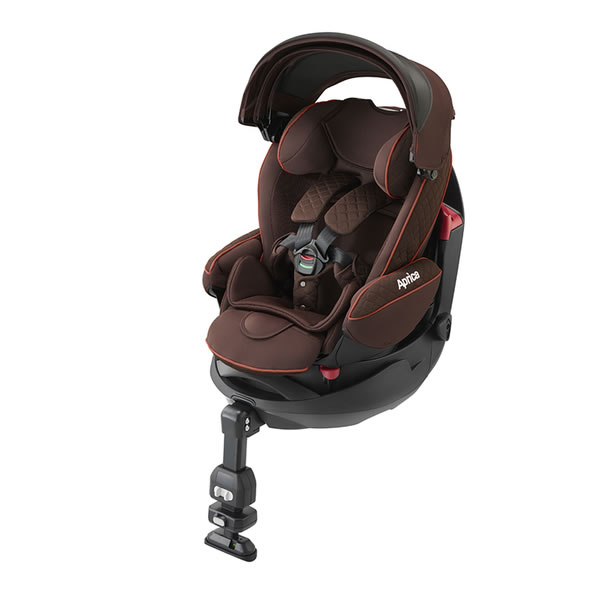 ORANGE-BABY: Aprica Car Seat Vlada S Artemis Brown