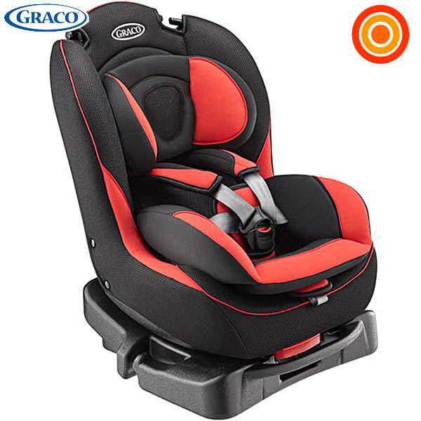 Recline Graco Greco G Flo G Flow Car Seat Red Rd Three Phases Mounted With A Cushion Gently
