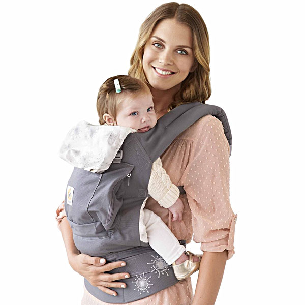 ORANGE-BABY  ERGO baby (ERGObaby) baby carrier starburst