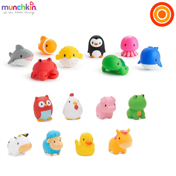 munchkin(マンチキン) 水でっぽう8コセット【送料無料 沖縄・一部地域を除く】