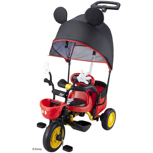 IDEs-IDEs cargo sun shade Mickey Mouse tricycle