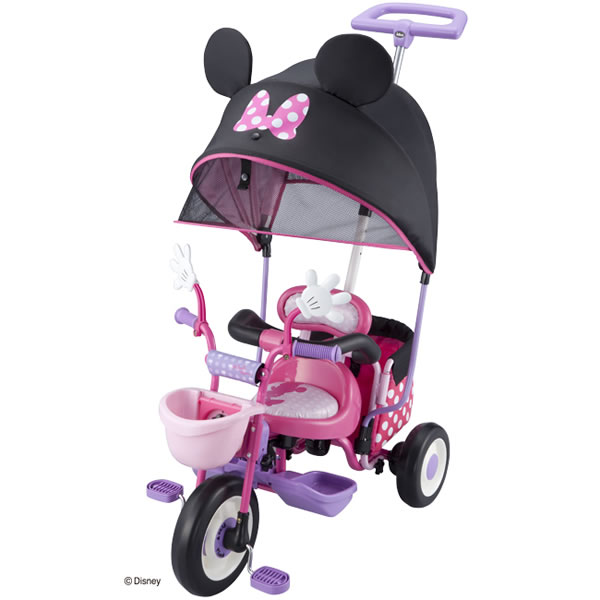 46726f814a6 ORANGE-BABY: Eye death cargo sunshade Minnie Mouse tricycle ides ...