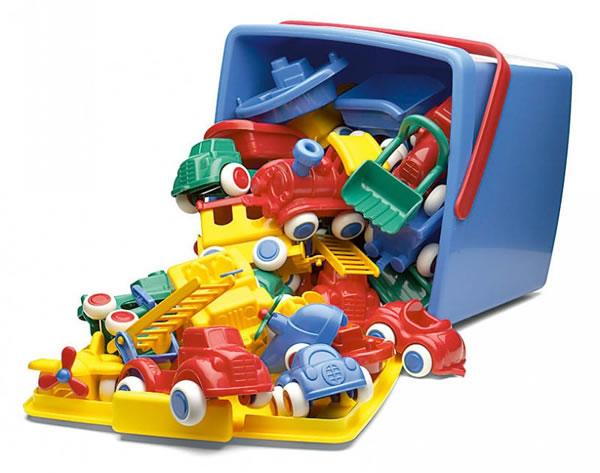 Orange Baby Viking Toys Vikingtoys Maxi Bucket Set 30