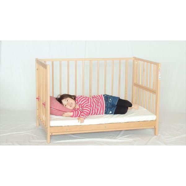Orange Baby Crib S Type Sucre Natural Sleep Sharing Bed Sawada