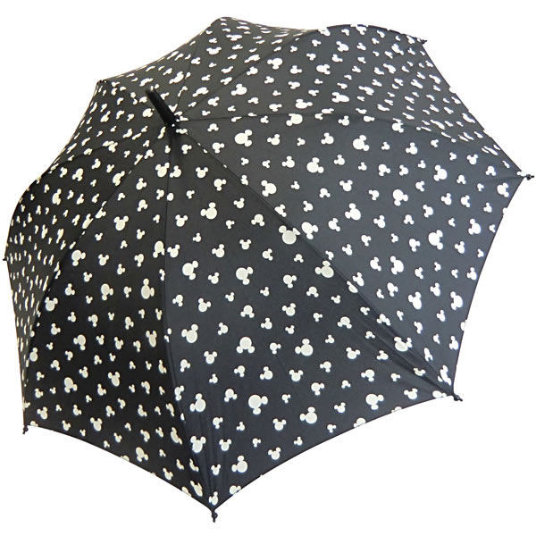 graphic relating to Umbrella Pattern Printable referred to as St. Marks Mickey Mouse routine print umbrella 60 cm black
