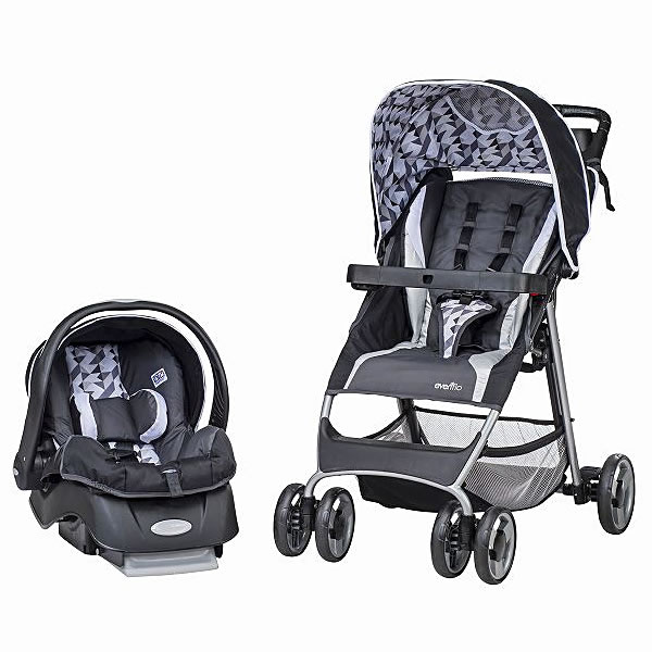 Evenflo A Type Stroller Infant Baby Seat Flex Light Travel System Raleigh