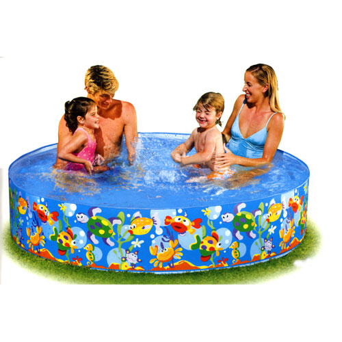 INTEX (Intex) ocean play snap set pool 56452