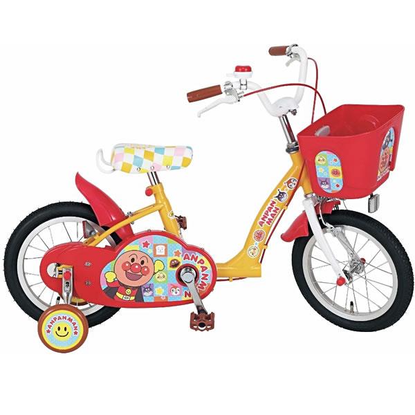 M&M(エムアンドエム) 自転車 それいけ!アンパンマン 14【ラッピング不可商品】【送料無料 沖縄・一部地域を除く】