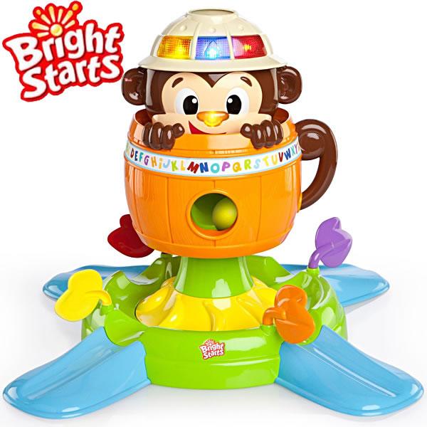 【送料無料】KidsII Bright Starts(ブライトスターツ) ハビングアボール ハイド&スピン・モンキー