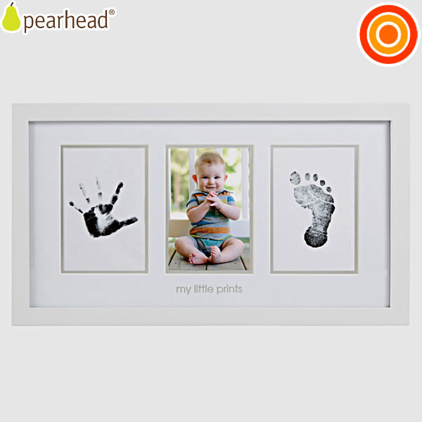 pearhead (0.001) 婴儿打印照片帧白色