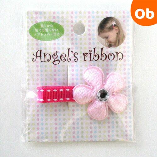 ストアー メール便送料無料 開店記念セール Angel's ribbon エンジェルズリボン フラワー1ヶ入 AFLW001