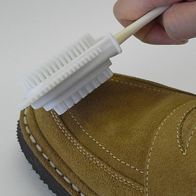 IPI suede & nubuck handle brush (jewel suede & nubuck handle brush) shoe brush
