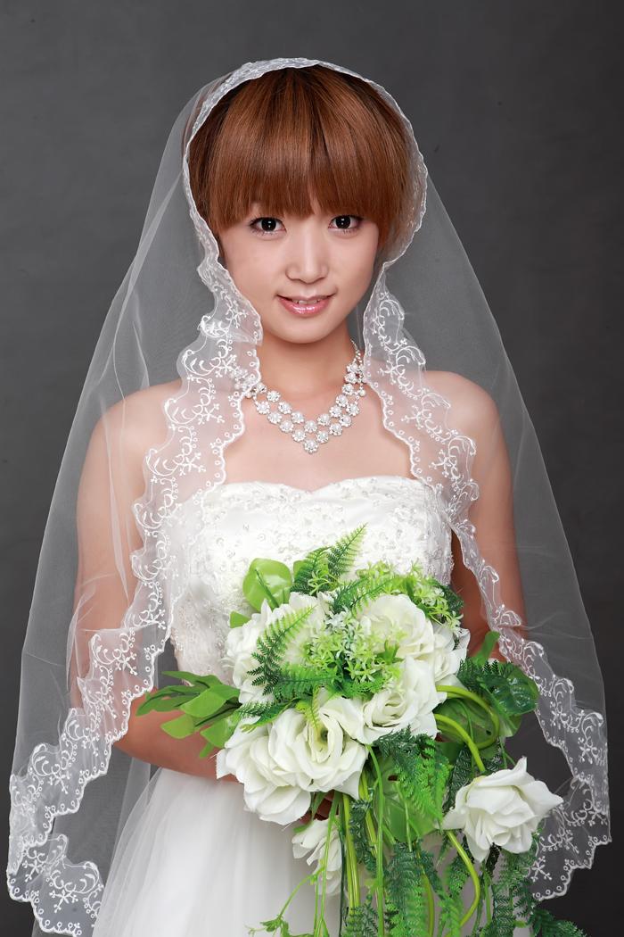 ウェディング用に 花嫁の必需品 人気急上昇 ブライダルヴェール ウェディングマリアベールB スピード対応 全国送料無料