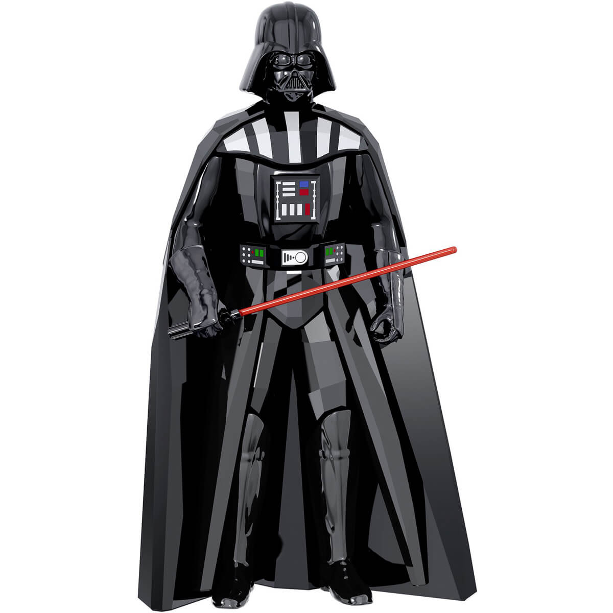 送料無料!ケアカード、箱付き スワロフスキー(SWAROVSKI)スターウォーズ ダースベイダー/Star Wars Darth Vader/クリスタルオブジェ/スワロフスキー社製置物【あす楽対応_関東】