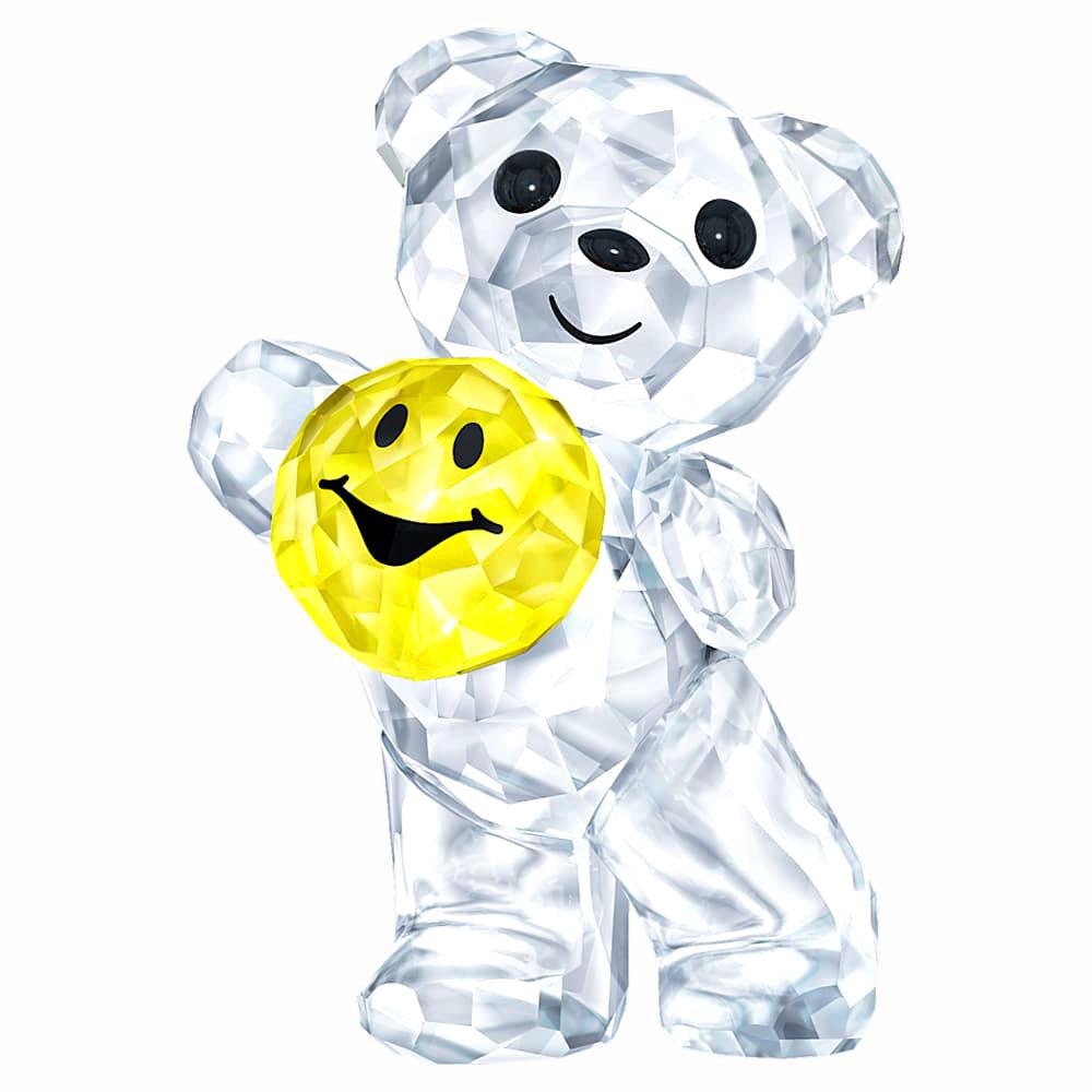 スワロフスキー(SWAROVSKI)KrisベアA Smile for you/クリスベア スマイル/クリスタルオブジェ/スワロフスキー社製置物【あす楽対応_関東】