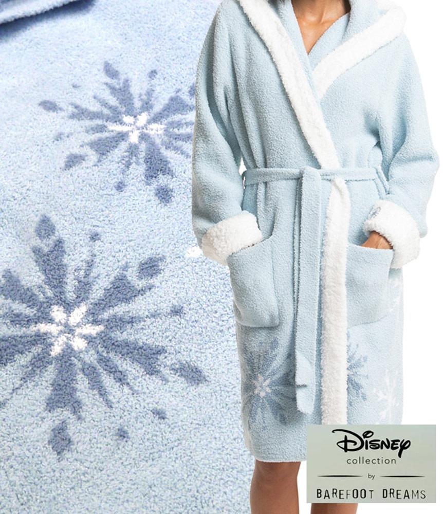 送料無料 ベアフットドリームス×ディズニーコラボ お気にいる アナと雪の女王2バスローブ ガウン Barefoot Dreams COZYCHIC 人気ブランド ROBE DNWCC1332 あす楽対応_関東 FROZEN Disneyzone DISNEY WOMEN'S