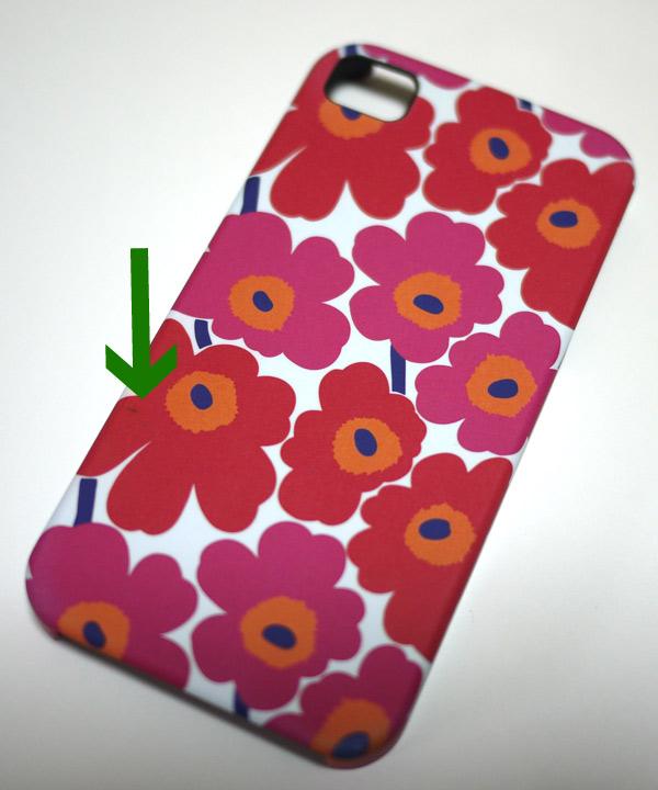 4 S Marimekko (marimekko) unikko iPhone4 案例 (iPhone4,4SCOVER/PIENI UNIKKO) P27Mar15