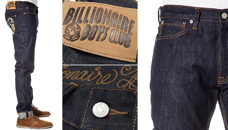 亿万富翁男孩俱乐部 (亿万富翁男孩俱乐部) 男式斜纹粗棉布裤子/牛仔裤/牛仔裤
