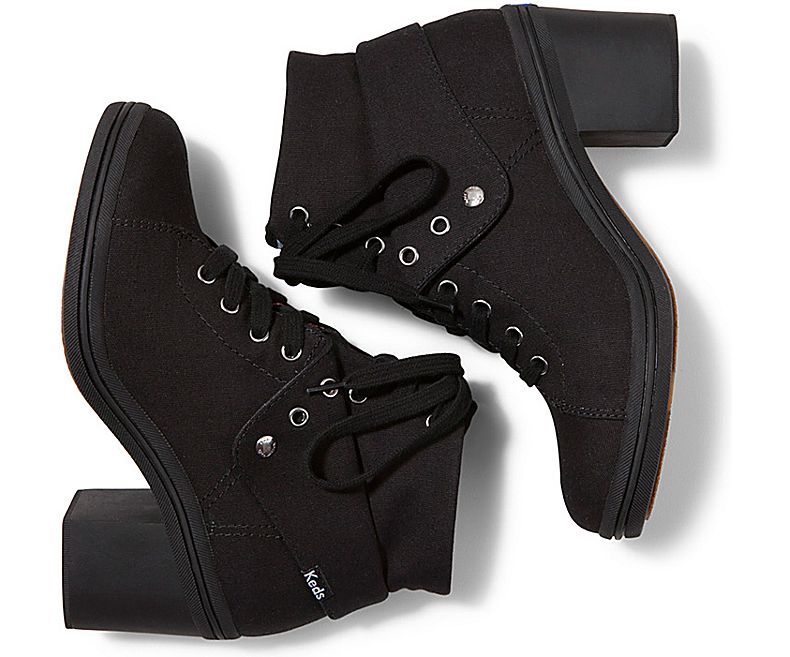 KEDS FIESTA HI SHOES (black X black ) fs04gm