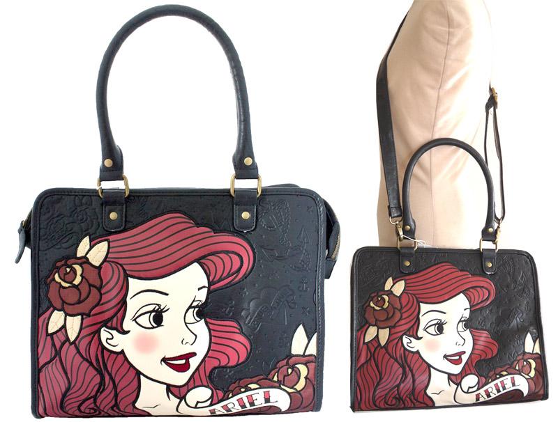 The La Geldof Por Brand Loungefly 2 Way Bag Ariel Little Mermaid Disney Cartoon It Is A Collaboration With Design