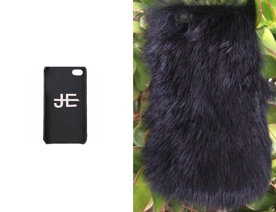 【iPhone6ケース】ジャガーエッジ(Jagger Edge)ラビットファーiPhone6ケース/IPHONE COVER BLACK FUR(ブラック)【正規品】【あす楽対応_関東】02P28Sep16【あす楽_土曜営業】【送料無料】
