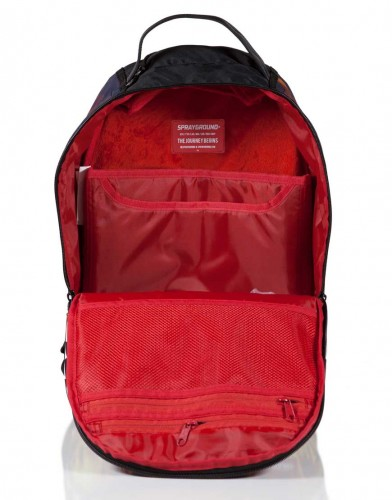Sprayground FIRE SHARK Backpack P27Mar15