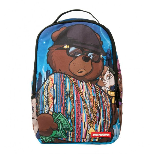 Sprayground Biggie Bear Backpack