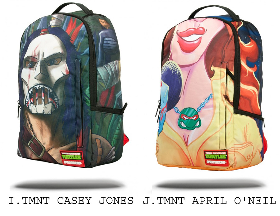 Sprayground TMNT Mutant Turtle Backpack