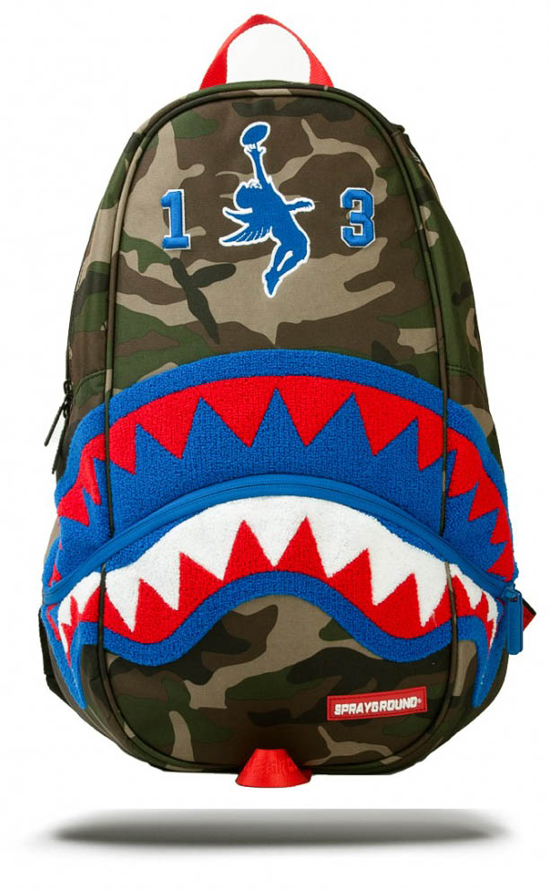 Sprayground GIANT SHARK Odell Beckham Collab DLXX BACKPACK