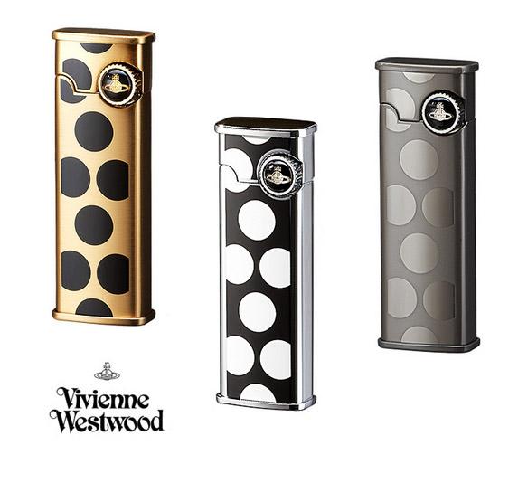 ヴィヴィアンウエストウッド(Vivienne Westwood)ドット柄ガスライター(ゴールド/シルバー/ガンメタル)【正規品】【あす楽対応_関東】02P28Sep16【あす楽_土曜営業】