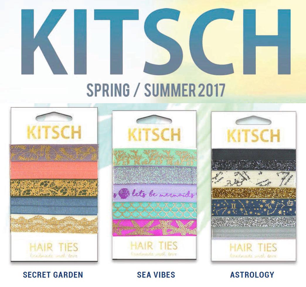 Kitsch Hair Ties /Secret Garden/Sea Vibes/Astrology