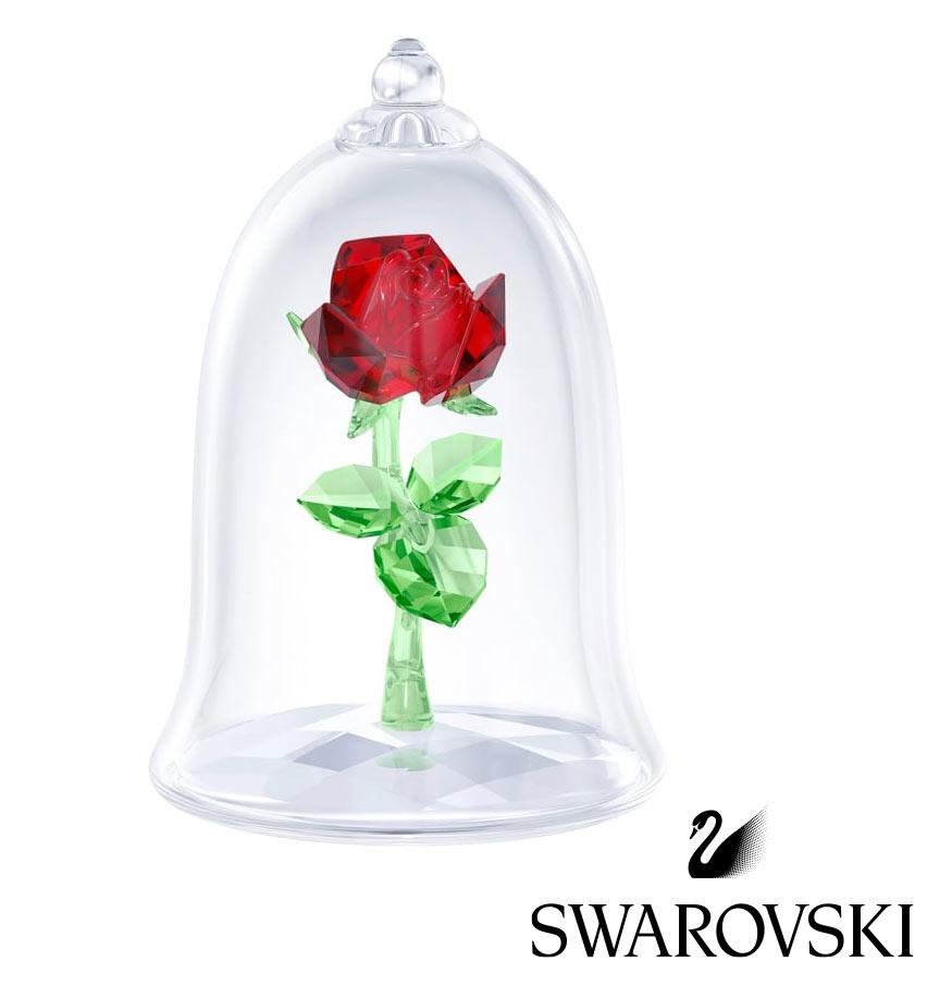 スワロフスキー(SWAROVSKI)美女と野獣 魔法のバラ 薔薇/ローズクリスタルオブジェ/ディズニーコラボ/Enchanted Rose/スワロフスキー社製置物【正規品】【あす楽対応_関東】02P28Sep16【あす楽_土曜営業】【送料無料】【Disneyzone】