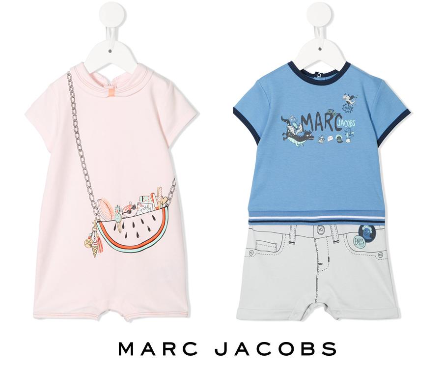 リトルマークジェイコブス(Little Marc Jacobs)ベビー用オーバーオール/だまし絵ロンパース/男児用&女児用/新生児~18か月【あす楽対応_関東】