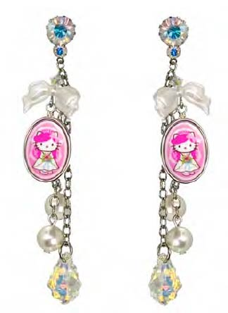 363cb1c07 Tarina Tarantino (Tarina Tarantino) bridal collection Swarovski & parity  long earrings P27Mar15