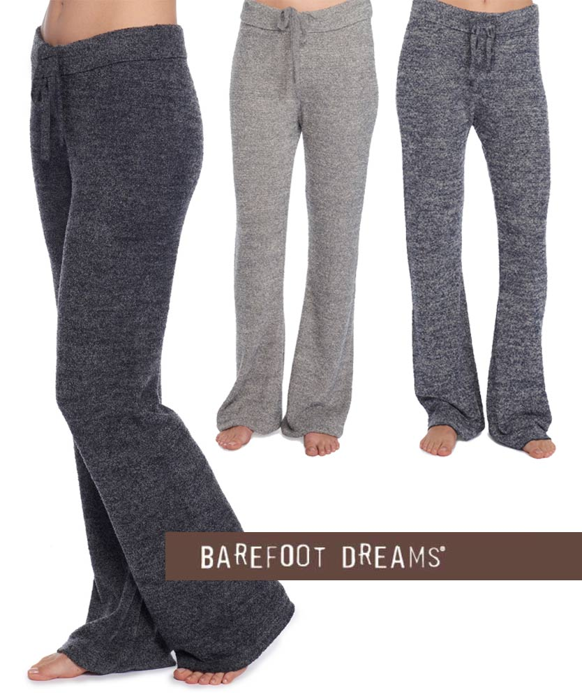 ベアフットドリームス(Barefoot Dreams)リゾートヘザーパンツ/ラウンジパンツ(グレー、ブラック、インディゴ)CozyChic Lite Women's Pant【正規品】【あす楽対応_関東】02P28Sep16【あす楽_土曜営業】【送料無料】