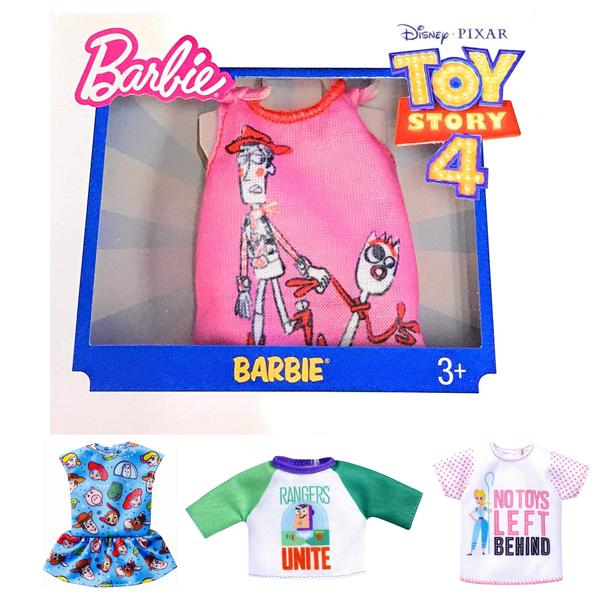 トイストーリーの着せ替えセット 全4種 着せ替え衣装 トイストーリーコラボ Barbie バービー人形 宅急便送料無料