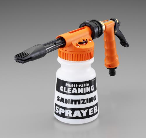 自動車専用整備工具 洗車道具 エスコ ESCO クリーニングガン プラグ付 900ml EA124LA-17P 付与 訳あり商品
