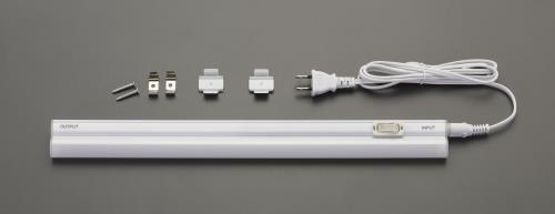 ライト 照明器具、電球、電池 未使用 屋内取付型照明器具 エスコ ESCO AC100V LED 照明灯 5W EA815LJ-2B 白色 超目玉