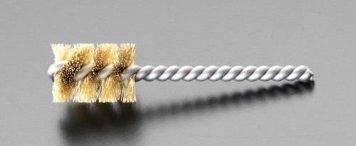 電動 エアー工具用先端工具 パイプ ☆正規品新品未使用品 穴用清掃 研磨ブラシ エスコ 15.9x90mm ESCO EA819EL-7 パワーブラシ 希少 真鍮製
