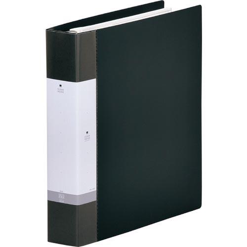 オフィス 住設用品 文房具 いつでも送料無料 ファイル リヒト 交換式クリヤーブック45枚 G380624 LAB. LIHIT G3806-24 株 超歓迎された 黒
