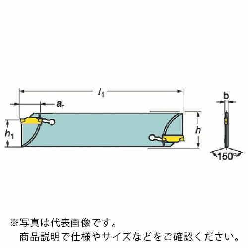 N123G55-25A2 コロカット1・2 突切りブレード サンドビック(株)コロマントカンパニー N123G5525A2 ) ( サンドビック