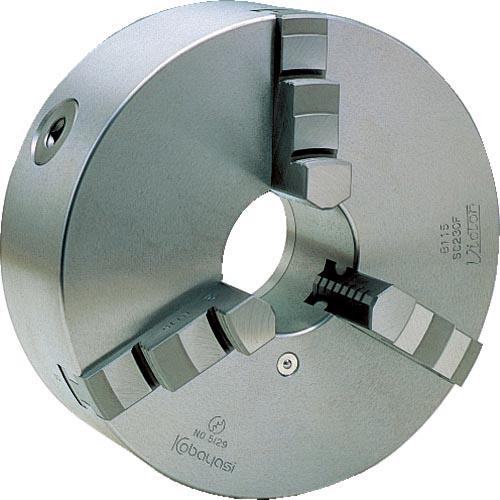 条件付送料無料 生産加工用品 ツーリング 治工具 スクロールチャック ビクター 保証 小林鉄工 SC165F 3ツ爪 株 一体爪 販売期間 限定のお得なタイムセール 6インチ